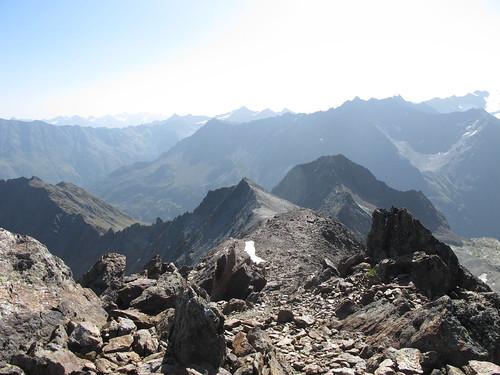 Gipfelgrat vom Wurmtaler Kopf