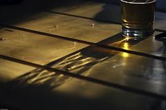 Light and shadow (Pavel Vanik) Tags: shadow summer beer canon garden relax eos restaurant czechrepublic ligth bohemia 30d 70300lis