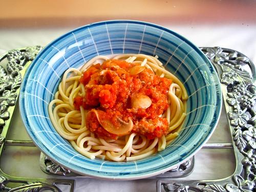 IMG_2379  Belacan spaghetti