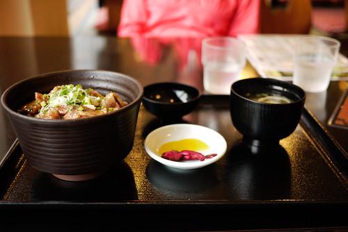 A tasty meal at the Eniwa Onsen, Eniwa, Hokkaido, Japan