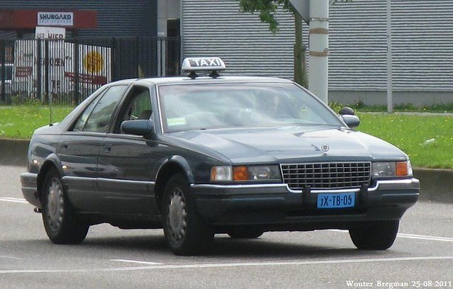 auto usa car amsterdam us automobile taxi voiture seville cadillac 1993 american américaine jxtb05