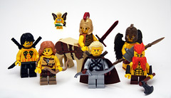Monster Manual Player Power (JasBrick) Tags: castle lego fantasy dungeonsanddragons monsters heroes minifig custom dd