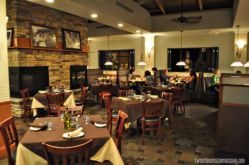 Dining Room at Santorini Taverna ~ Eden Prairie, MN