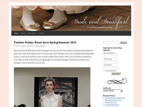 bride&breakfast screenshot