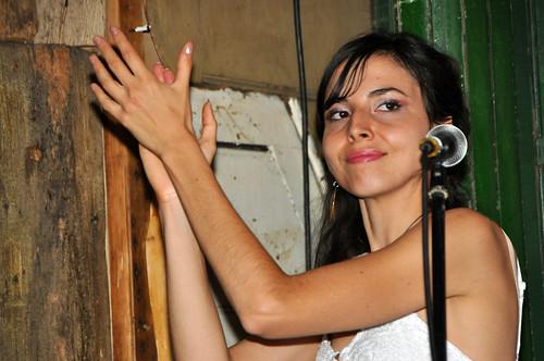 DSC_5939  Lucia de Carvalho from Brazil at Favela Chic Bar London