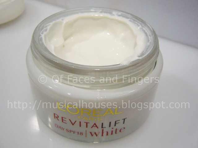 Loreal revitalift white day cream