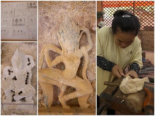 Artisans. Angkor