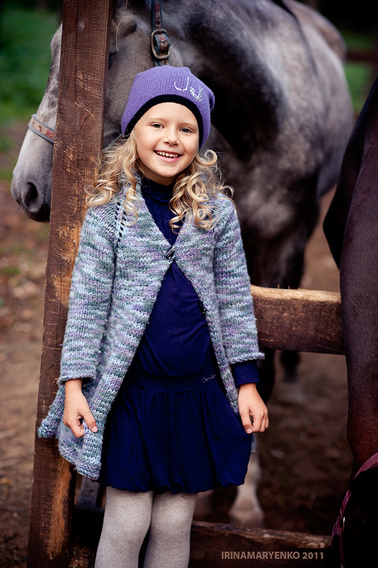 Фотосессия красивой девочки. Фотограф Ирина Марьенко. Fotostomp.ru