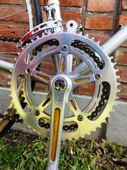 Campagnolo Crankset (coventryeagle48) Tags: 3 sport vintage corsa epoca ttt olmo campagnolo cinelli 3ttt velital