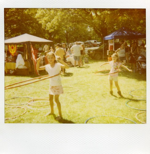 the Hula Hoopers Polaroid