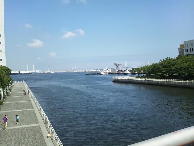 横浜の海の写真