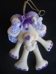Elefante - Chaveiro (Fefito Artes by Fabola Almeida) Tags: porta beb quarto elefante chaveiro enfeitedemaaneta andreamalheiros