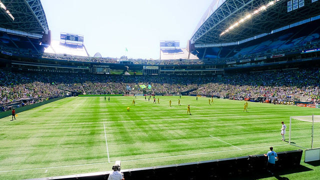 Seattle Sounders FC vs. Columbus Crew - 8/27/11