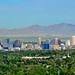 Salt Lake City skyline, August 2011