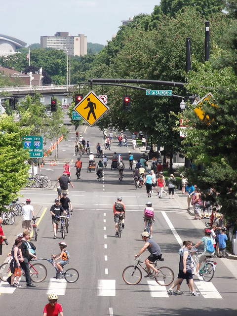 Sunday Parkways on Naito
