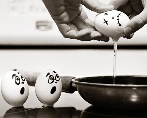 Br-egg-fast disaster