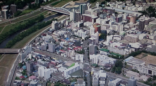 札幌市 空から