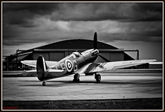 DOGS OF WAR (Gaz West) Tags: old west heritage by plane canon vintage eos during for flying interesting memorial waiting fighter shot display britain lock who 5 aircraft hurricane gaz down battl