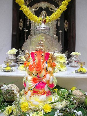 home decoration ideas for ganesh chaturthi the chef and kitchen kudumulu modak with three 13418