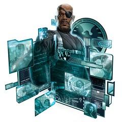 110902(1) - 2012年科幻電影《The Avengers 復仇者聯盟》即將殺青,官方特地公開4幅最新宣傳插圖!