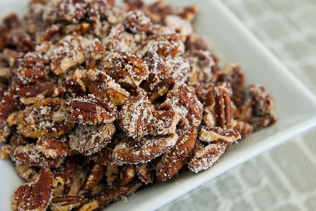 Ginger Spiced Pecans