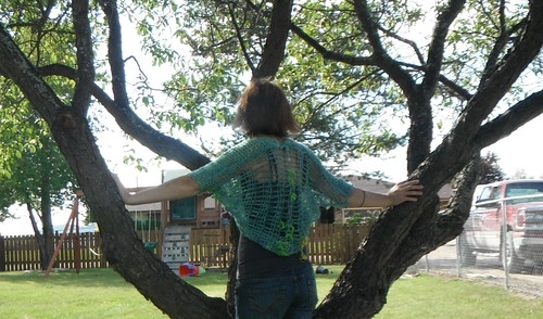 Spun summer shrug