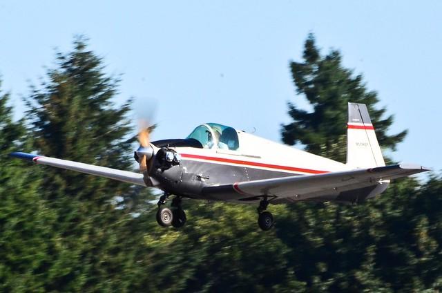 VAW arrivals 1954 Mooney M-18C