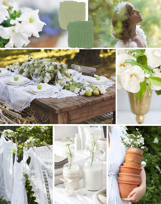 Green & white inspiration