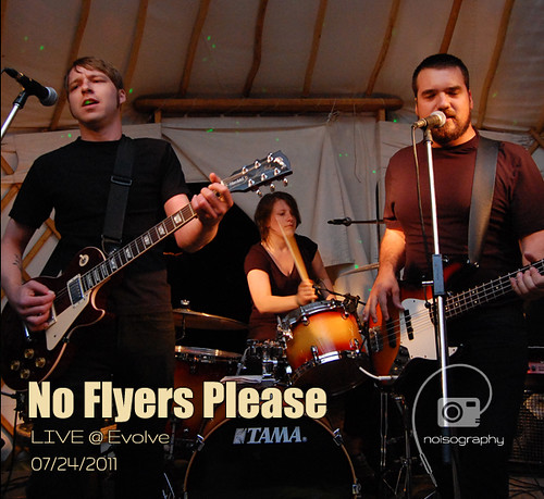 No Flyers Please LIVE @ Evolve 2011