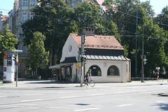 Warteraum - Kiosk Nymphenburger Straße - Südseite