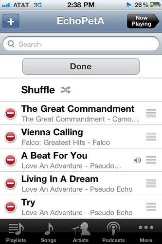 Vienna Calling in a Playlist