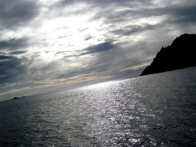 Boeiro e cabo Bicos (illas Cíes)