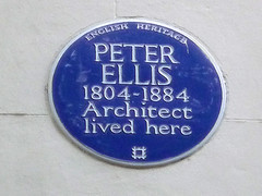 Photo of Peter Ellis blue plaque