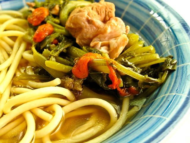 IMG_2492 西洋菜汤意大利面,Spaghetti in Watercress soup