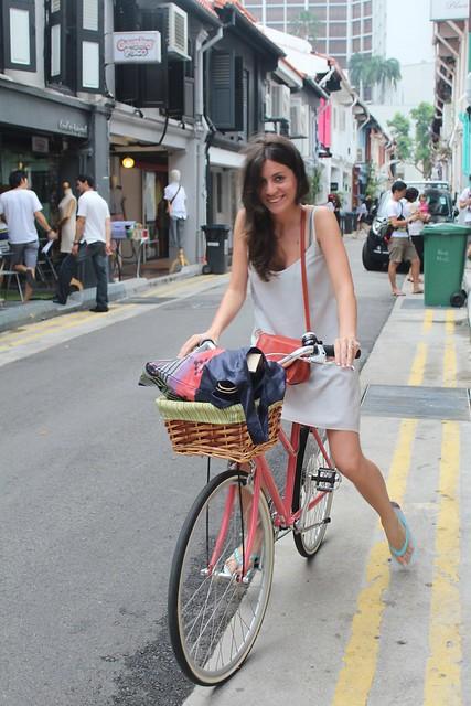 haji lane, singapore, singapur, tokyo bike