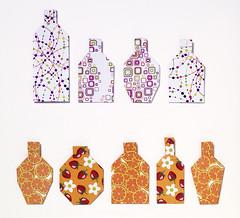 Origami création - Didier Boursin - Flacons de parfum