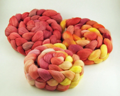Woolgatherings - BMFA - Polwarth - Rovings