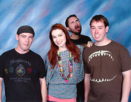 The Wil Wheaton Photobomb 2011 Dragon*Con by Sean-Loco-ODonnell