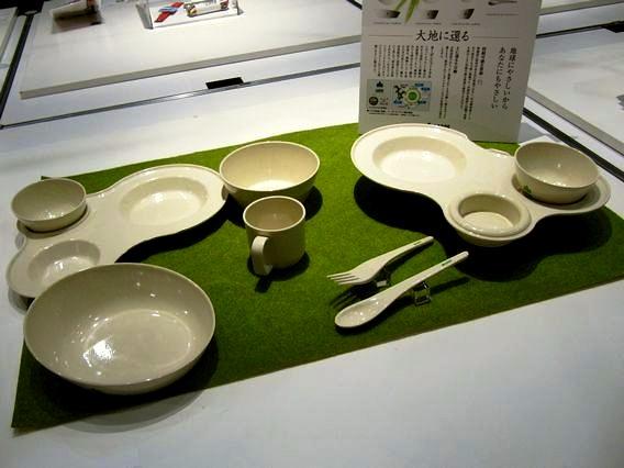 大地に還る地球にやさしい食器(ロゴス LOGOS)~グッドデザインエキスポ2011