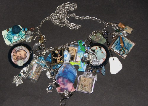 Mixed Media Charm Jewelry 006
