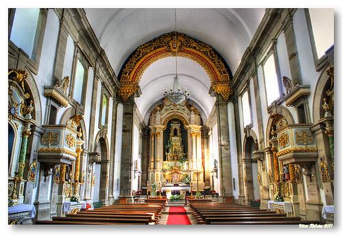 Interior do Santuário de Nossa Senhora da Peneda by VRfoto