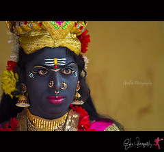 Angry God's (Gulfu) Tags: canon is god kali makeup anger 7d crown 70200 f4 durga godess devi headgear facepainted 2011 lipcolour angrybirds angrygods athachamayam gulfu gulfuphotography