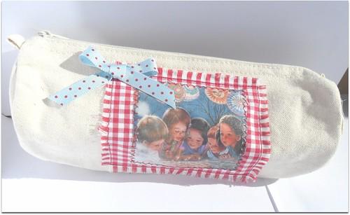 Bolsa porta lapis anita by Fuxiquices-da-isa