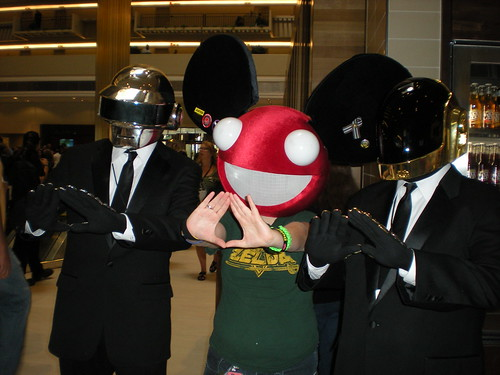 Daft Punk and Deadmau5
