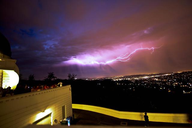 Lightning Over LA