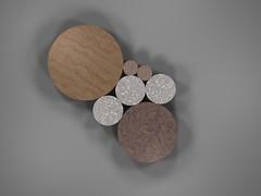 Integer Radius Circle Packing (fdecomite) Tags: circle geometry packing math povray integer