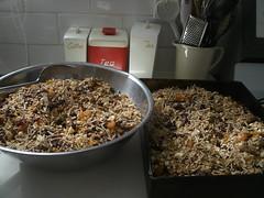 Big batch of muesli (megs threads) Tags: food muesli