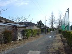 南光町の十條製紙の社宅