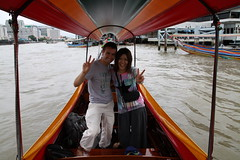 Saturday 10: Boat trip with Yuri very nice girl from Japan met the day before at Khaosan Road @bkk Photo