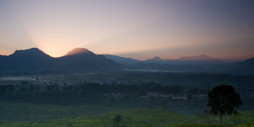 Sunrise at Bukit Nini